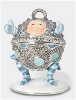 Baby Bell Jeweled Box B