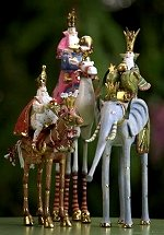 Magi On Horse Ornament