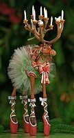 Dancer Reindeer Figure