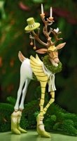 Prancer Reindeer Figure