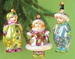 Carolers Set of Three