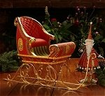 Large Dash Away Sleigh Figure